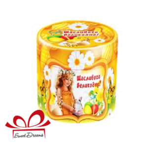 цукерки в тубусі до Пасхи для дітей та дорослих