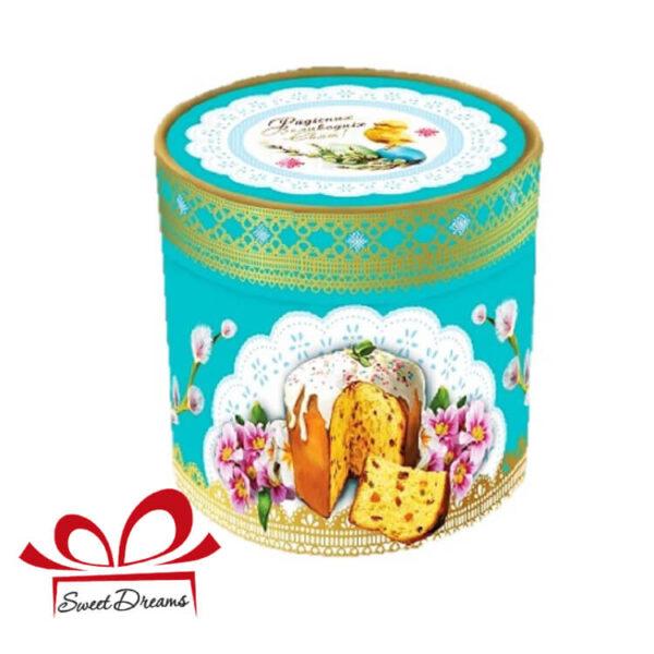 кращі цукерки в картонному тубусі до Пасхи