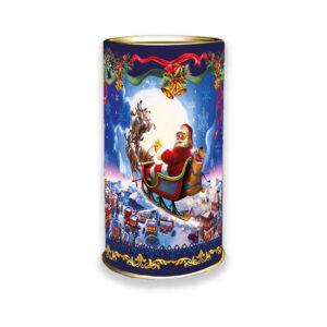 Солодощі в тубусі на новий рік і Різдво від виробника